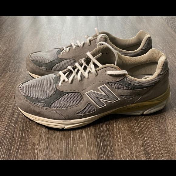 New Balance 99 Grey Mens Size 6 4e